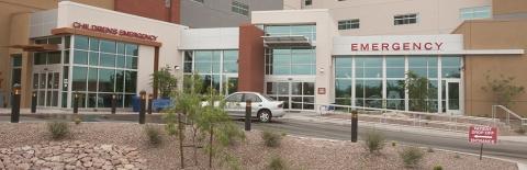 Front of Banner UMC Tucson ED