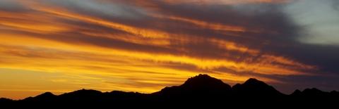 Sunset on Tumamoc Hill