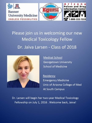Welcome back, Dr. Larsen!